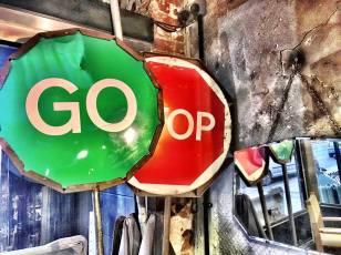STOP GO